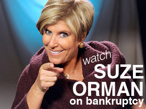 Suze Orman on Bankruptcy
